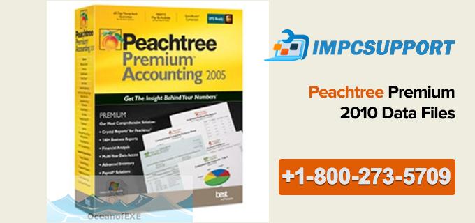 Peachtree Premium 2010 Data Files
