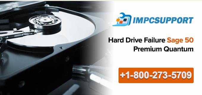 Hard Drive Failure Sage 50 Premium Quantum