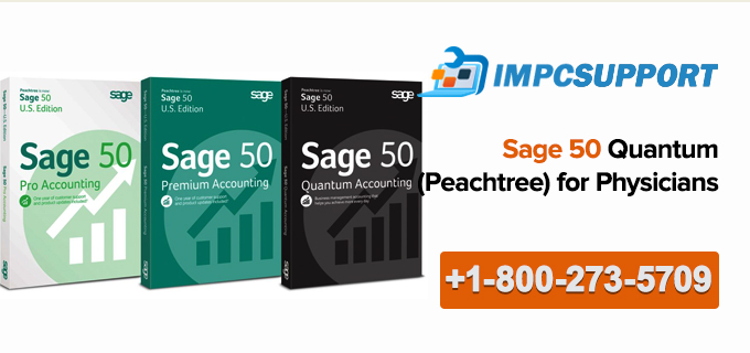 Sage 50 Quantum (Peachtree) for Physicians