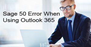 Sage-50-Error-When-Using-Outlook-365