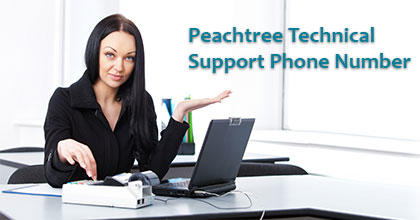 Peachtree Technical Support Phone Number